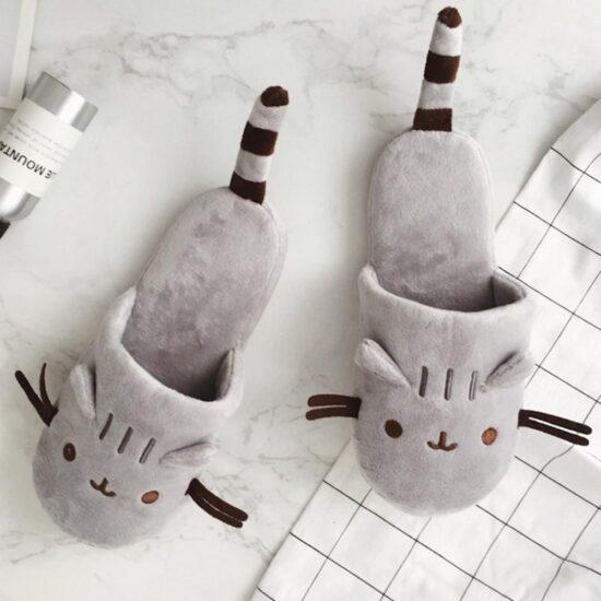 śmieszne skarpetki z kotkiem z messengera