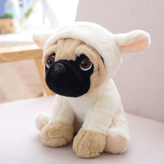 maskotka mops owieczka