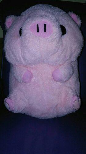 Śmieszny pluszak maskotka w kształcie zwierzaka - świnka photo review