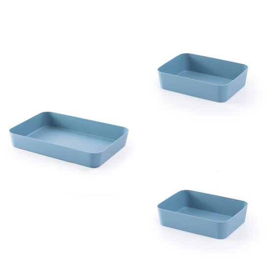 niebieski organizer do szuflady