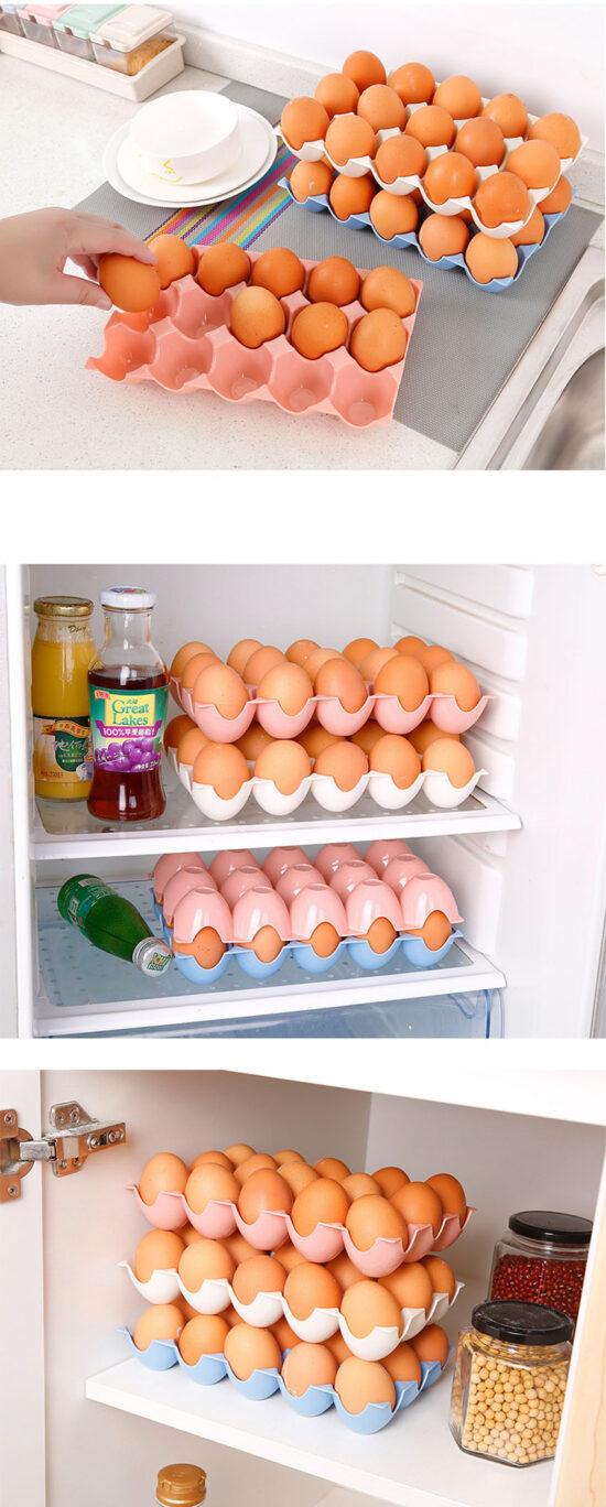 organizer na jajka do lodówki lub szafki
