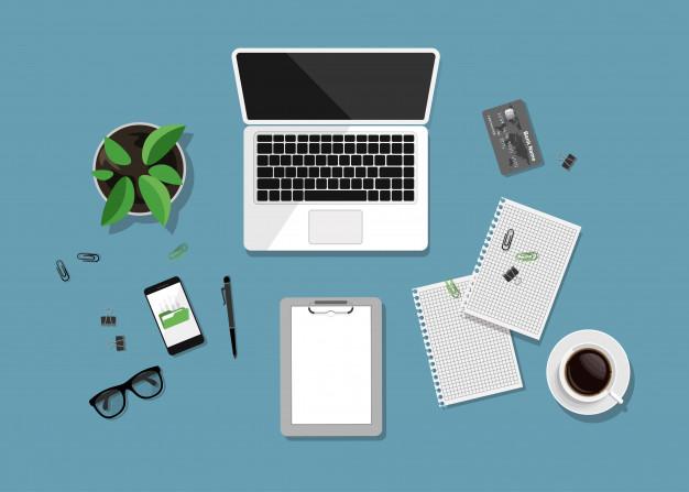 organizacja dokumentów na biurku