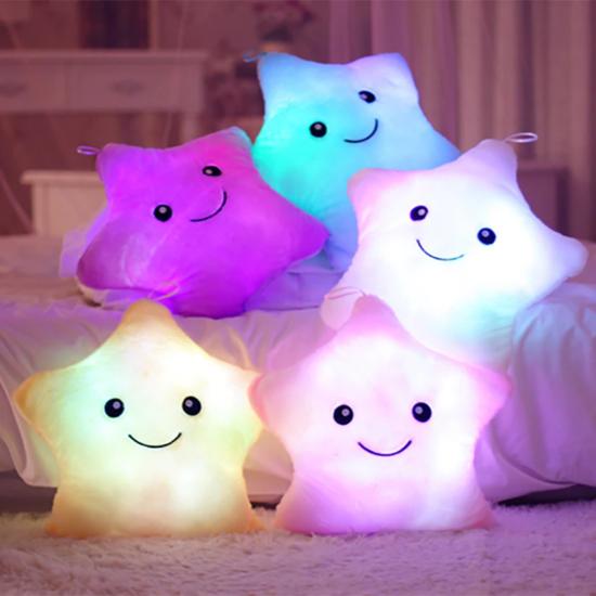 świecąca poducha w kształcie gwiazdki LED
