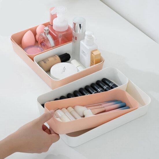 organizery na kosmetyki do szuflad