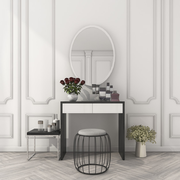 klasyczna toaletka