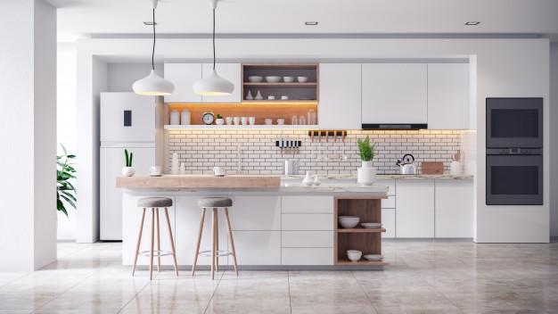 zorganizowana i czysta kuchnia