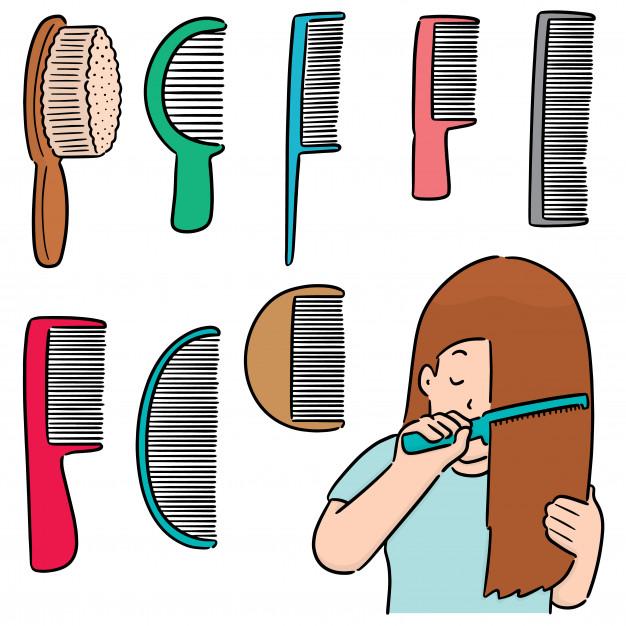 różne rodzaje szczotek do włosów