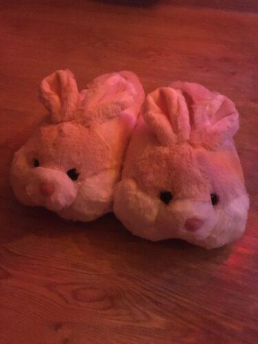 Śmieszne kapcie króliki photo review