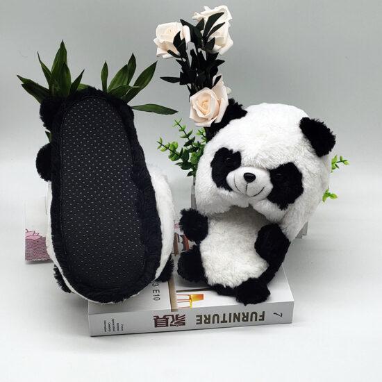 smieszne kapcie panda